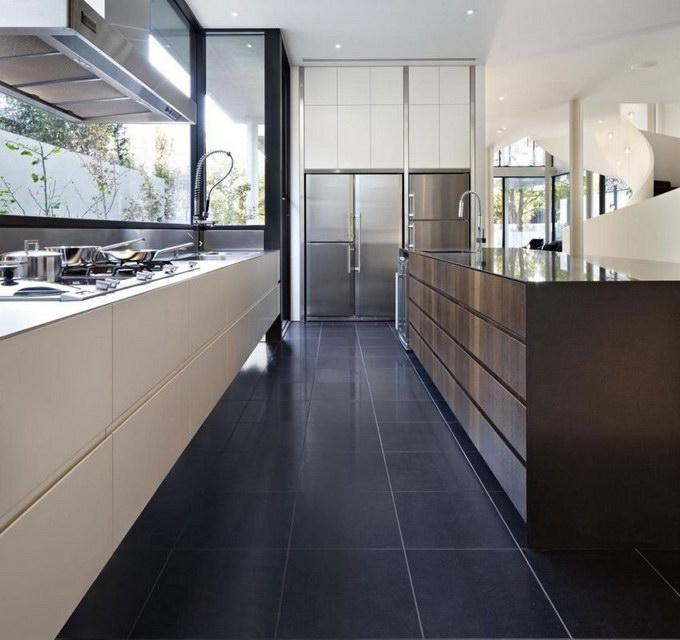 Плитка на пол для кухни и коридора: фото и цены