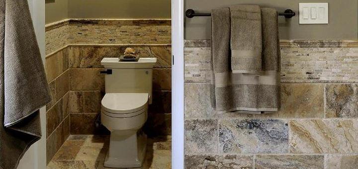 Плитка для туалета: фото, дизайн для маленькой площади