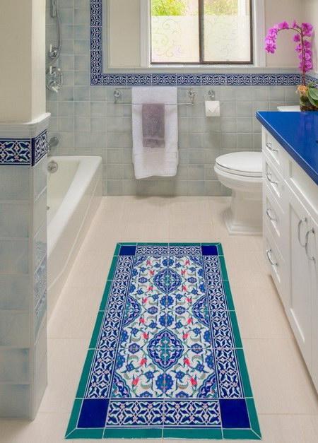 Ремонт туалета кафельной плиткой: фото