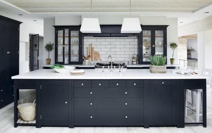 Современные кухни 2017 года: модный интерьер, дизайн