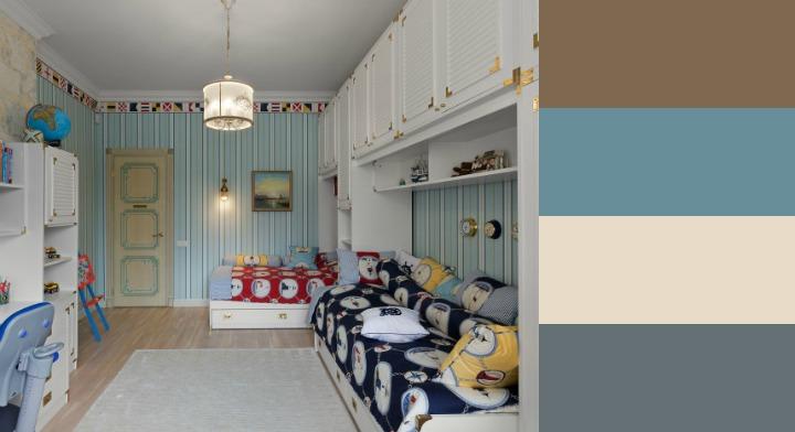 Сочетание цветов в интерьере (таблица): пол, потолок, стены, мебель
