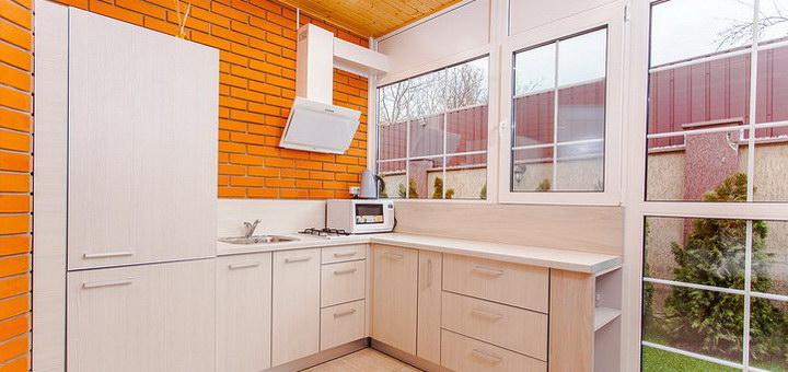 Отделка кухни в частном доме своими руками: фото