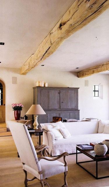 Стиль прованс в интерьере загородного дома: фото