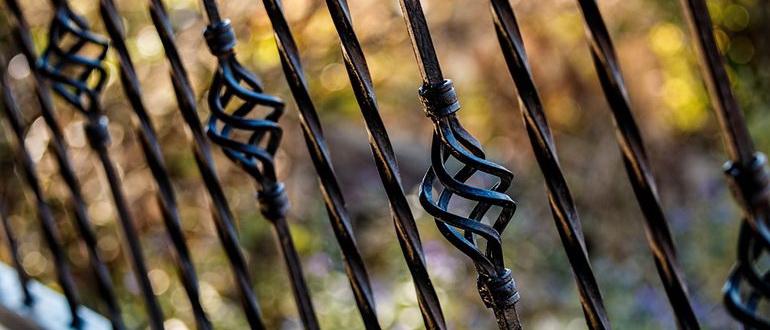 ковка на забор