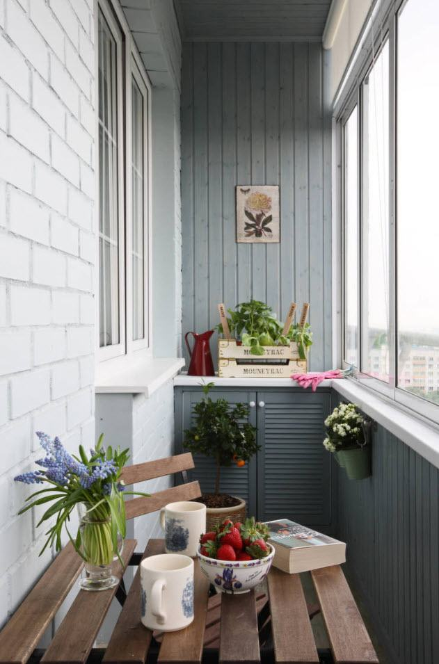 интерьер балкона в квартире фото
