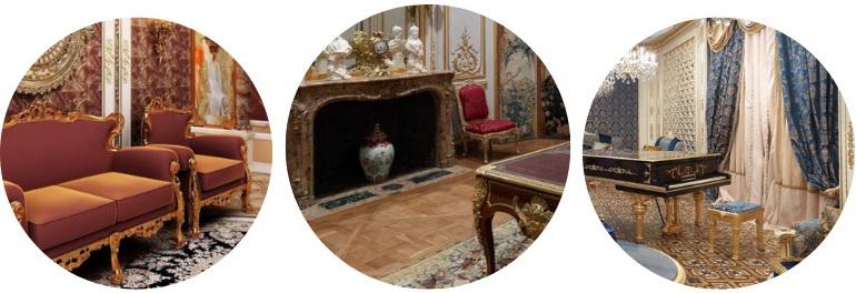 элементы декора гостиной
