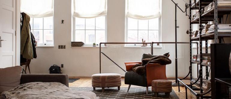 лофт дизайн в интерьере малогабаритных квартир