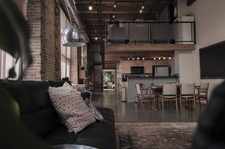 индастриал стиль в квартире
