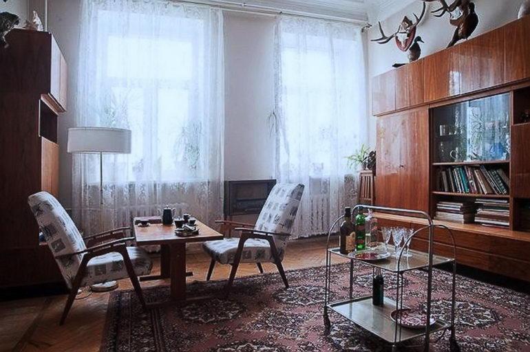 советский стиль в интерьере