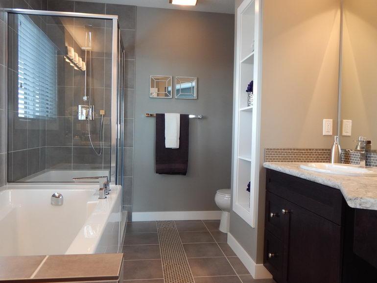 пример интерьера ванной
