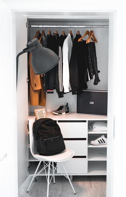 гардероб в шкафу