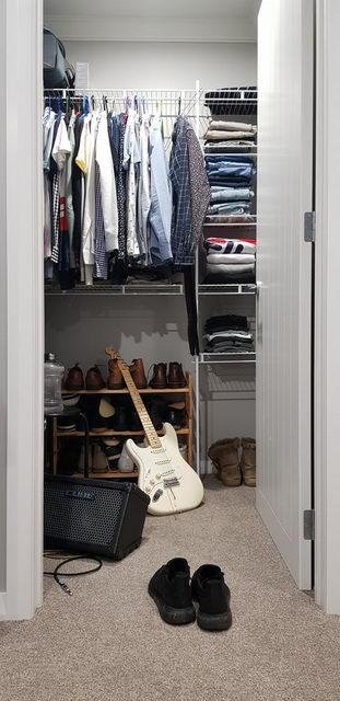 скрытая гардеробная