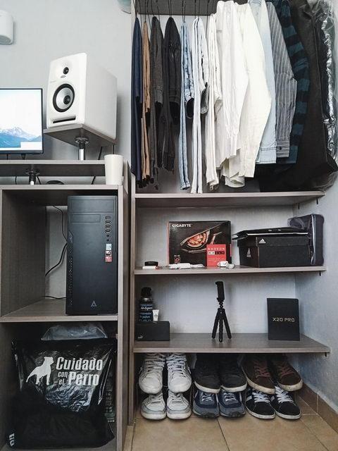 системы хранения в гардеробе