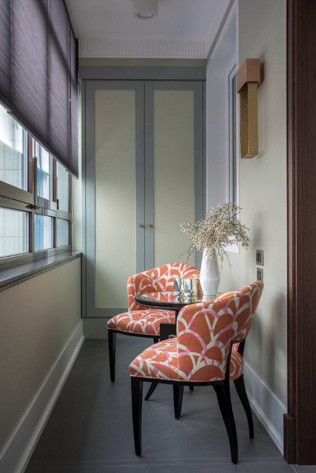 дизайн маленького балкона в квартире фото