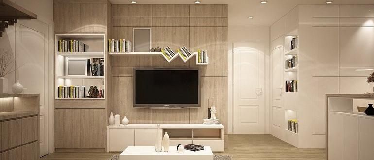 дизайн квартиры 55 кв м 2 комнаты