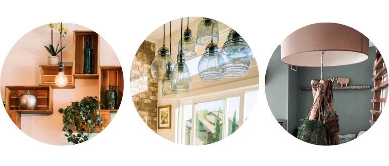лампы в эко-стиле