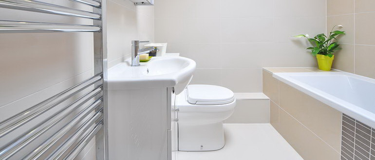 ванная в скандинавском стиле фото интерьер