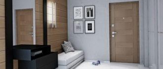 современный дизайн прихожей в квартире 2020