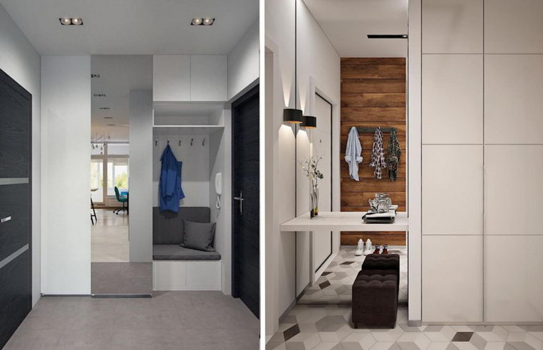 дизайн прихожей в квартире 2020