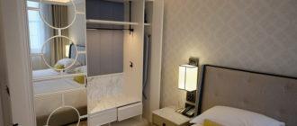 гардеробная в спальне небольшого размера идеи планировки