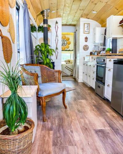 Прованс в кухне и гостиной