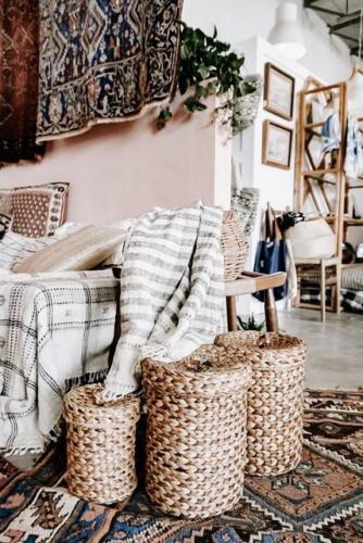 Текстиль в гостиной