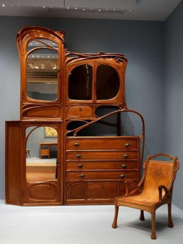 Образец мебели в стиле модерн