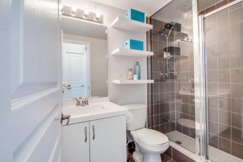 Интерьер сканди ванной
